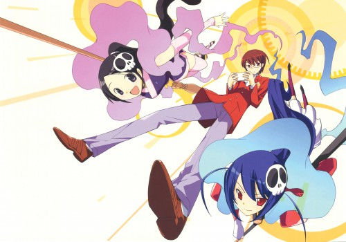 Tamiki Wakaki, The World God Only Knows, Hakua Du Lot Herminium, Keima Katsuragi, Elsea De Lute Irma