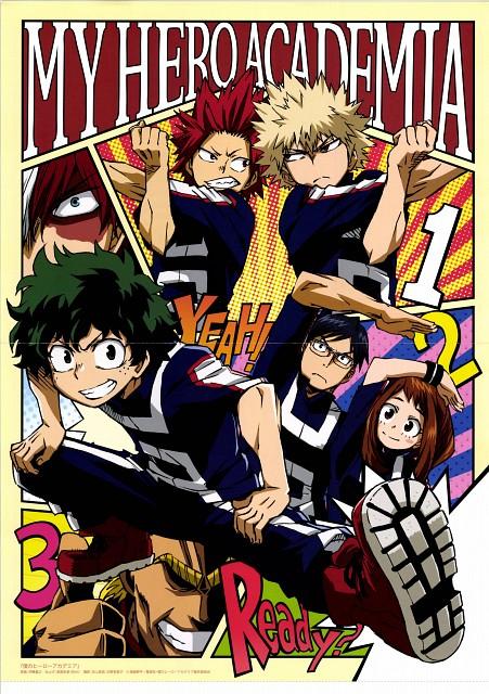 Kouhei Horikoshi, BONES, Boku no Hero Academia, Minoru Mineta, Toshinori Yagi