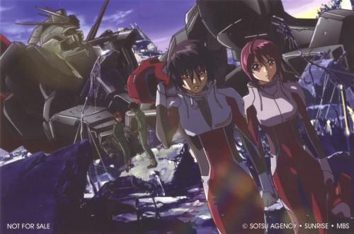 Sunrise (Studio), Mobile Suit Gundam SEED Destiny, Shinn Asuka, Lunamaria Hawke
