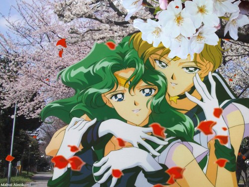 Toei Animation, Bishoujo Senshi Sailor Moon, Sailor Neptune, Sailor Uranus Wallpaper