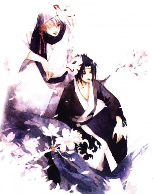 Shel, Naruto, Wind and Clover, Kakashi Hatake, Sasuke Uchiha