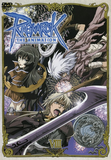 Ragnarok the Animation, Takius, Iruga, DVD Cover