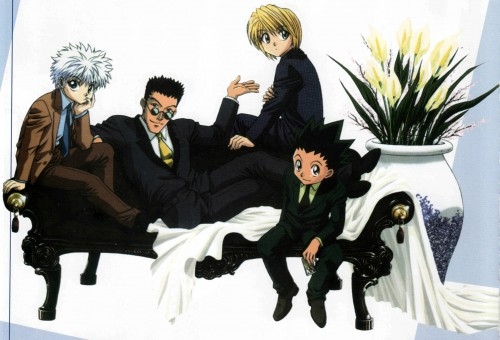 Yoshihiro Togashi, Nippon Animation, Hunter x Hunter, Gon Freecss, Kurapika