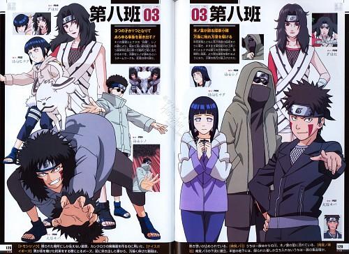 Studio Pierrot, Naruto, Naruto Juunen Hyakunin, Hinata Hyuuga, Shino Aburame