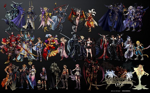 Square Enix, Dissidia Final Fantasy, Laguna Loire, Cecil Harvey, Yuna