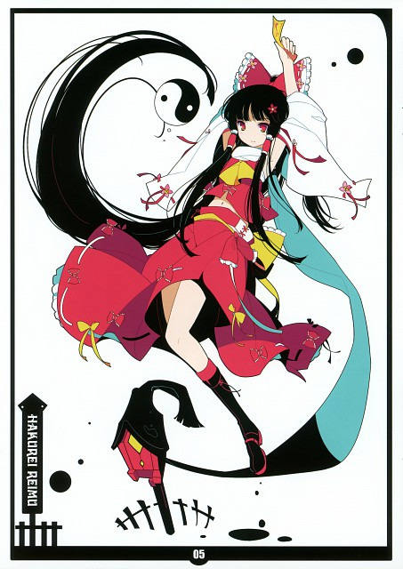 Ideolo, Black Album 1, Touhou, Reimu Hakurei, Comic Market 79