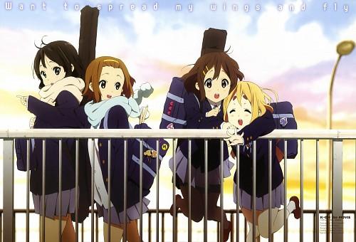 Yukiko Horiguchi, Kyoto Animation, K-On!, Mio Akiyama, Ritsu Tainaka
