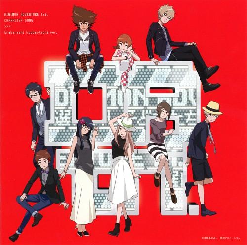 Toei Animation, Digimon Adventure, Meiko Mochizuki, Koushirou Izumi, Hikari Yagami