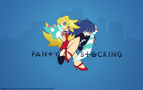 Gainax, Panty and Stocking with Garterbelt, Panty Anarchy, Stocking Anarchy Wallpaper