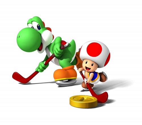 Nintendo, Super Mario, Toad (Character), Yoshi, Official Digital Art