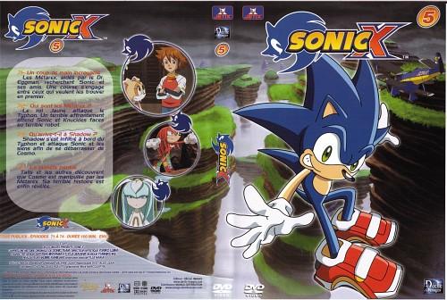 TMS Entertainment, Sega, Sonic Series, Cream the Rabbit, Knuckles the Echidna