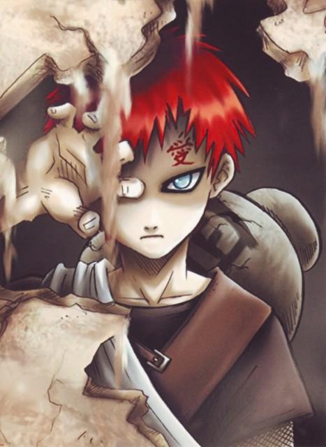 Naruto, Gaara, Doujinshi