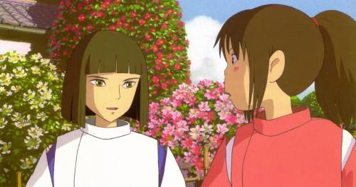Studio Ghibli, Spirited Away, The Art of Spirited Away, Chihiro Ogino, Haku (Spirited Away)