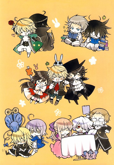 Jun Mochizuki, Pandora Hearts, Pandora Hearts ~odds and ends~, Eliot Nightray, Sharon Rainsworth