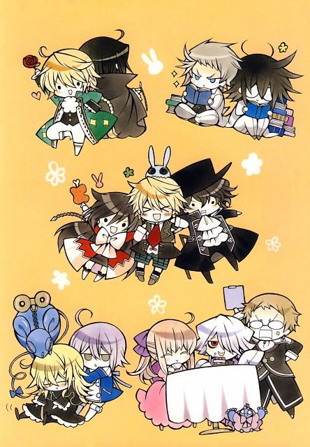Jun Mochizuki, Pandora Hearts, Pandora Hearts ~odds and ends~, Leo Baskerville, Alice (Pandora Hearts)