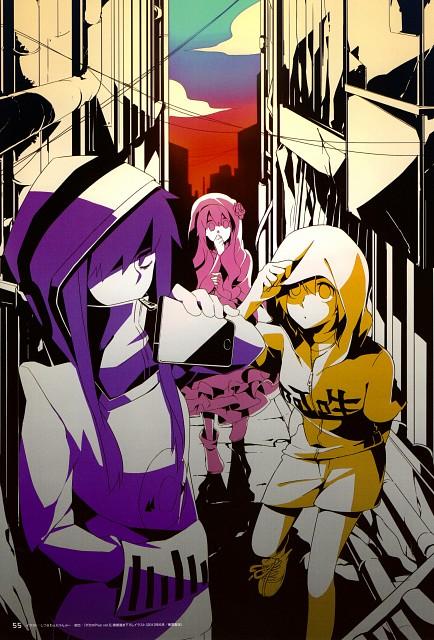 Shidu, Shaft (Studio), Kagerou Days, Kagerou Days Official Visual Fan Book, Momo Kisaragi