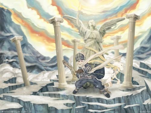 Hiroyuki Asada, Studio Pierrot, Tegami Bachi, Lag Seeing Wallpaper