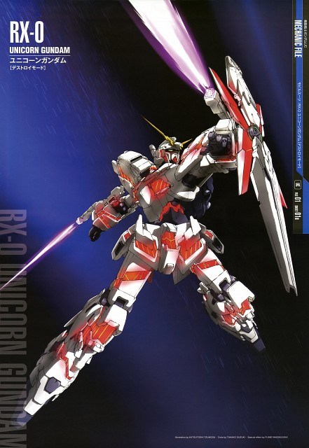 Sunrise (Studio), Mobile Suit Gundam - Universal Century, Mobile Suit Gundam Unicorn, Gundam Perfect Files