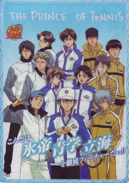 Takeshi Konomi, J.C. Staff, Prince of Tennis, Genichiro Sanada, Keigo Atobe