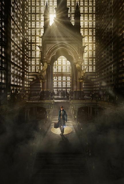 Warner Bros., Fantastic Beasts, Newt Scamander, Pin-up Poster