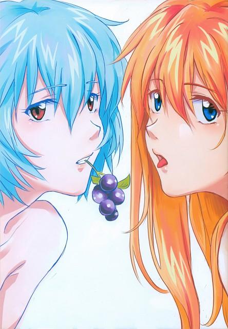 Khara, Gainax, Neon Genesis Evangelion, Imaginary Happiness, Rei Ayanami