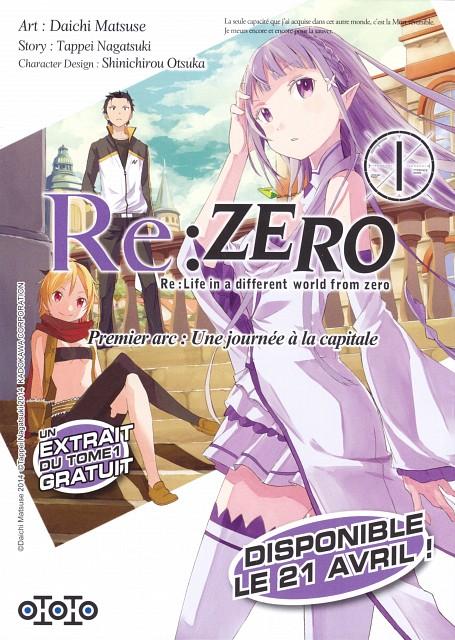White Fox, Re:Zero, Subaru Natsuki, Emilia (Re:Zero), Felt (Re:Zero)