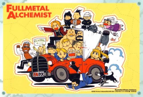 Hiromu Arakawa, Fullmetal Alchemist, Sig Curtis, Edward Elric, Heymans Breda