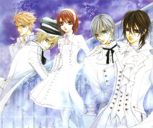 Matsuri Hino, Vampire Knight, Vampire Knight Official Fanbook, Yuuki Cross, Zero Kiryuu
