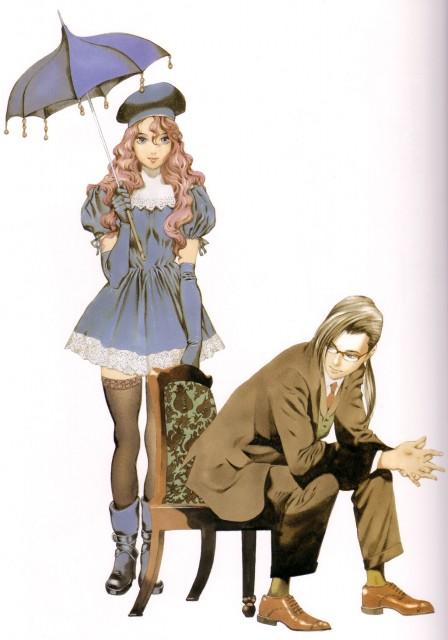 Akihiro Yamada, BONES, RahXephon, RahXephon Illustrations Collection, Quon Kisaragi