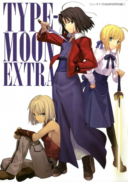 TYPE-MOON, Canaan, Kara no Kyokai, Fate/stay night, Shiki Ryougi