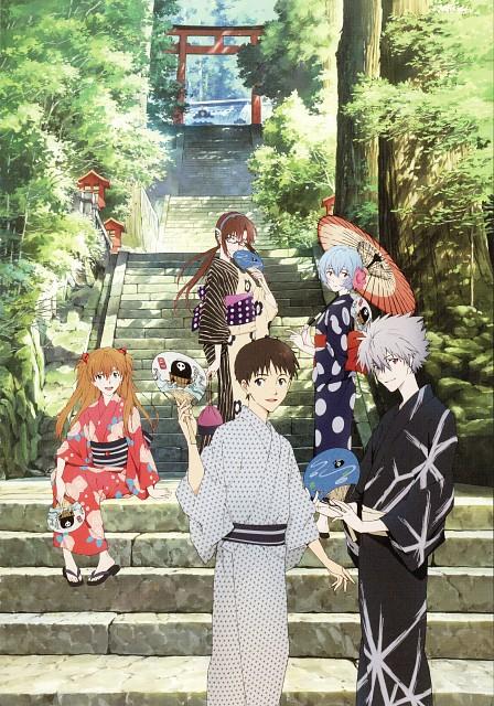 Akemi Hayashi, Gainax, Neon Genesis Evangelion, Kaworu 2015, Asuka Langley Soryu