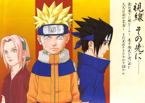 Masashi Kishimoto, Naruto, Uzumaki (Artbook), Naruto Uzumaki, Sasuke Uchiha
