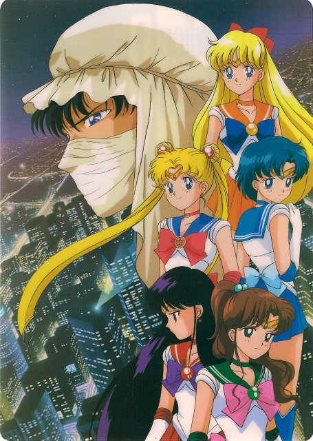 Toei Animation, Bishoujo Senshi Sailor Moon, Sailor Venus, Sailor Mercury, Sailor Mars
