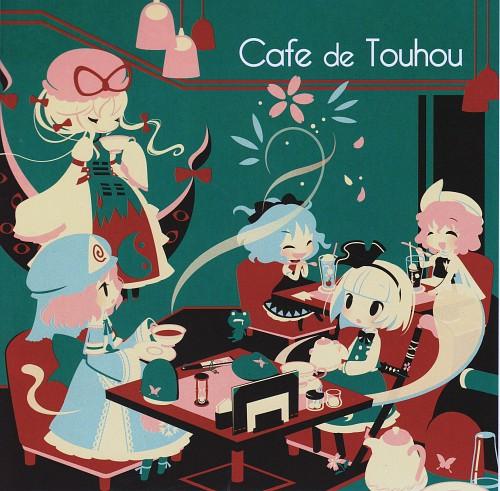 Touhou, Yuyuko Saigyouji, Youmu Konpaku, Album Cover