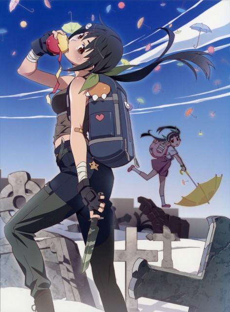 Akio Watanabe, Shaft (Studio), Bakemonogatari, Mayoi Hachikuji, DVD Cover