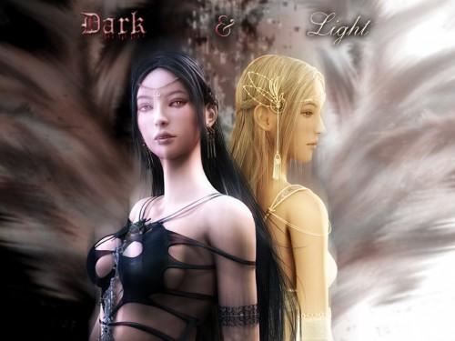 Eun Hee Choi, Shaiya - Light and Darkness, Raina, Etaine Wallpaper