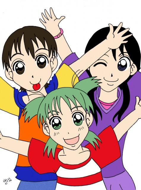 Yotsubato!, Miura Hayasaka, Ena Ayase, Yotsuba Koiwai, Member Art