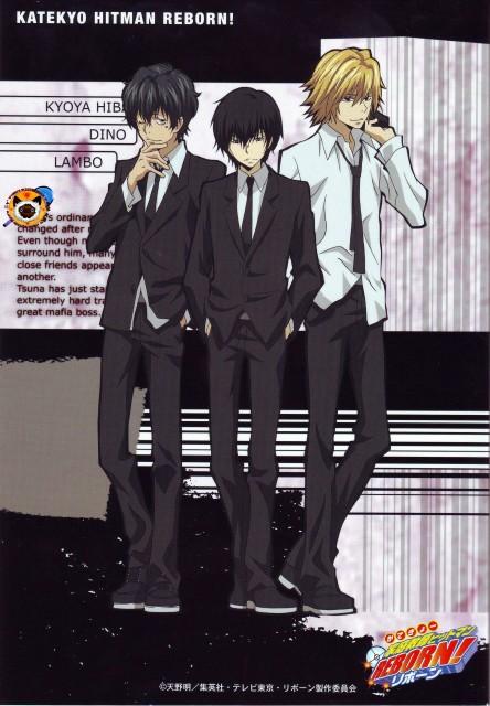 Akira Amano, Artland, Katekyo Hitman Reborn!, Kyoya Hibari, Lambo
