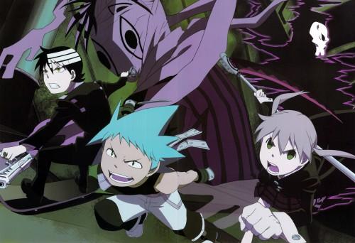 Soul Eater, Tsubaki Nakatsukasa, Maka Albarn, Black Star, Death The Kid