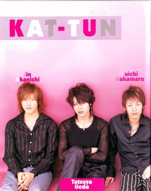 KAT-TUN, Yuichi Nakamaru, Tatsuya Ueda, Jin Akanishi
