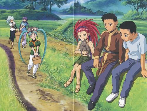 Geneon/Pioneer, Tenchi Muyo, Seina Yamada, Washu Hakubi, Tenchi Masaki