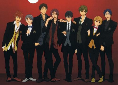 Kyoto Animation, Free!, Sousuke Yamazaki, Rei Ryuugazaki, Rin Matsuoka