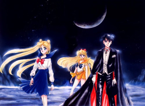 Naoko Takeuchi, Bishoujo Senshi Sailor Moon, BSSM Original Picture Collection Vol. I, Usagi Tsukino, Sailor Venus