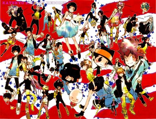 Akira Amano, Katekyo Hitman Reborn!, Belphegor (Katekyo Hitman Reborn!), Nozaru, Bluebell