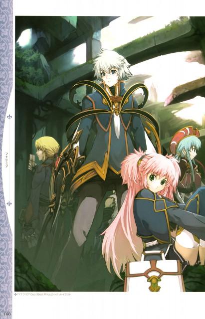 Kazuyuki Yoshizumi, Atelier Series Official Chronicle, Mana Khemia, Jessica Philomele, Anna Laemmle