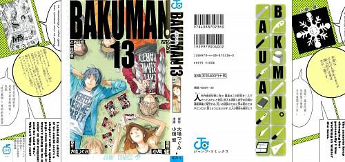 Takeshi Obata, Bakuman, Moritaka Mashiro, Miho Azuki, Kaya Miyoshi
