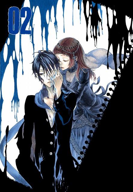 Rinka Kusunoki, Shirokuro Kitan, Kurokichi Kagenui, Ririko Benibana, Manga Cover