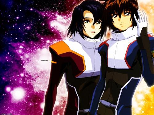 Sunrise (Studio), Mobile Suit Gundam SEED Destiny, Kira Yamato, Athrun Zala Wallpaper