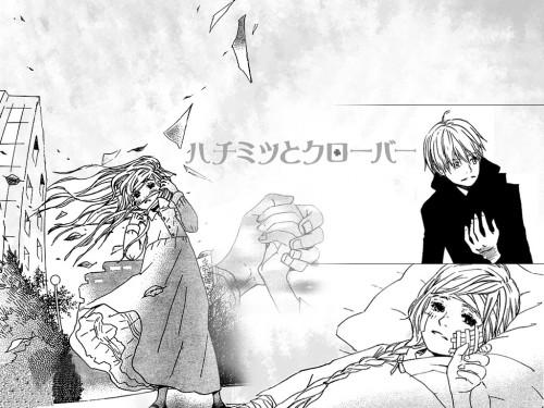 Chika Umino, J.C. Staff, Honey and Clover, Yuuta Takemoto, Hagumi Hanamoto Wallpaper