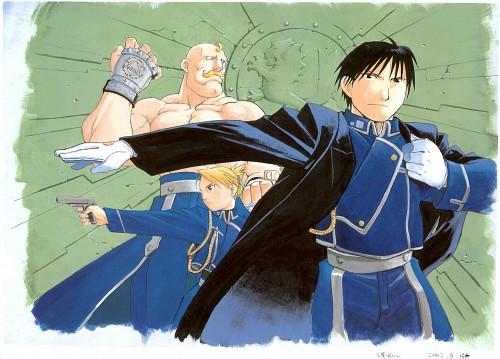 Hiromu Arakawa, Fullmetal Alchemist, Fullmetal Alchemist Artbook Vol. 1, Alex Louis Armstrong, Riza Hawkeye